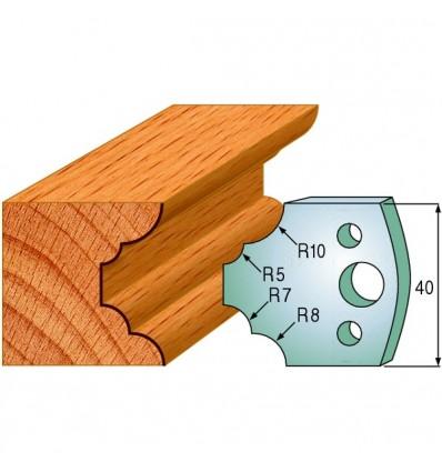 690022 - 2 cuchillas + 2 contracuchillas