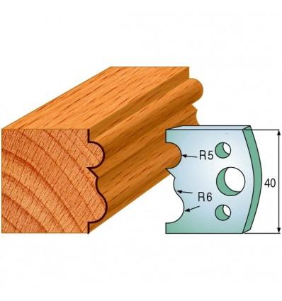 690029 - 2 cuchillas + 2 contracuchillas